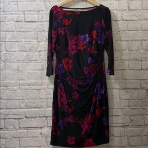 Chaps Floral Dress